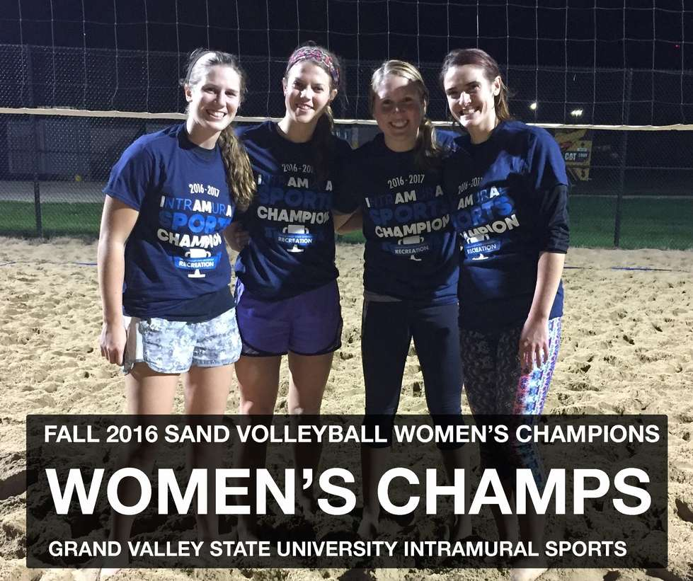 Women's Sand Volleyball Champs